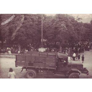 Saint Jean de Moirans : marché aux cerises après 1945