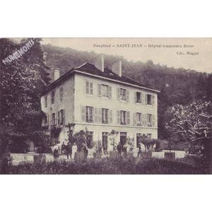 Dauphiné Saint-Jean Hôpital temporaire Rivier