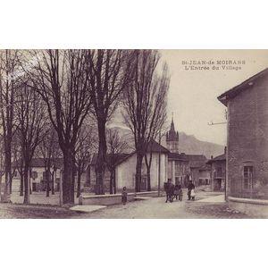 St-Jean-de-Moirans l'entrée du village