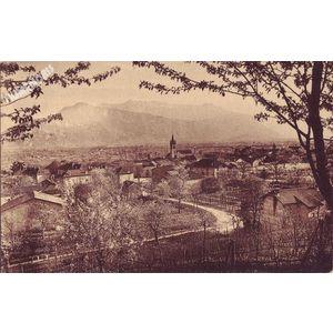 Saint-Jean-de-Moirans (Isère) ses arbres fruitiers, ses vignobles et le Vercors
