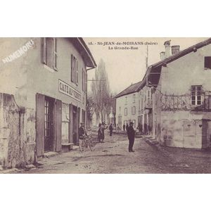 018 St-Jean-de-Moirans (Isère) la Grande-Rue