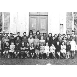 charancieu école en 1948-50