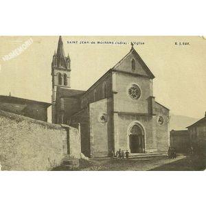 Saint-Jean-de-Moirans (Isère) l'Eglise