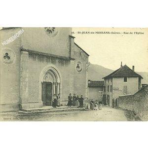 016 St-Jean-de-Moirans (Isère) Rue de l'Eglise