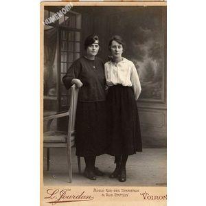 Voiron : Durand Alice et Joséphine