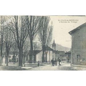St-Jean-de-Moirans (Isère) l'Entrée du Village