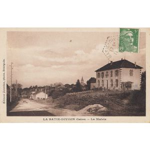 la Bâtie-Divisin (Isère) la Mairie