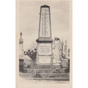 la Bâtie-Divisin (Isère) le Monument
