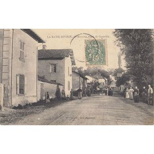 la Batie-Divisin Recoing, route de Grenoble