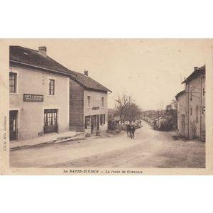 la Bâtie-Divisin la route de Grenoble