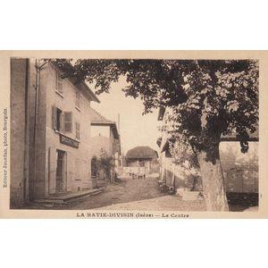 la Bâtie-Divisin (Isère) le Centre