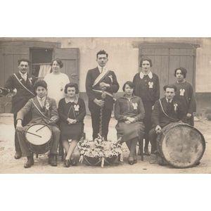 conscrits de la Batie-divisin en 1927