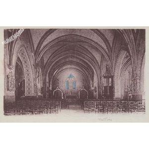 Tullins (Isère) intérieur de l'église