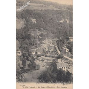 Fures (Isère) le Grand Hurtière les Gorges