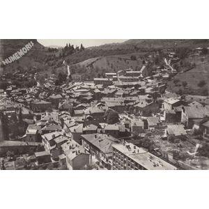 en avion au-dessus de.... 6 Tullins (Isère) Boulevard Michel Perret et vue générale