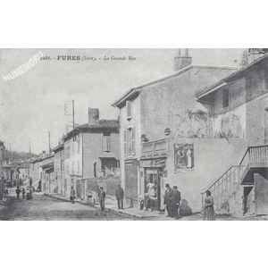 2286 Fures (Isère) la grande Rue