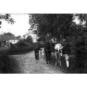 tour du lac en caleche avant 1914