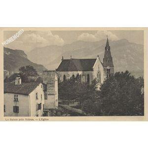 la Buisse près Voiron l'église