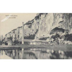 Voreppe (Isère) grotte de Bibi