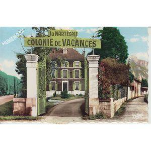 """6082 la Buisse (Isère) colonie de vacances """"la martégale"""""""