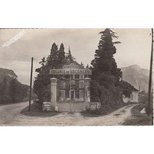 """la Buisse (Isère) colonie de vacances """"la martégale"""""""