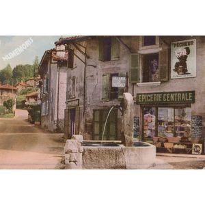 la Buisse (Isère) la fontaine