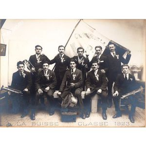 la Buisse conscrits de 1923