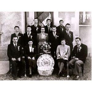 Vourey conscrits 1953