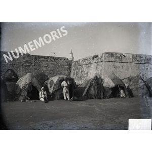 Afrique du Nord camp Touareg