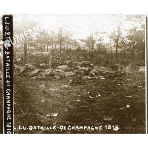 PV 2150 bataille de Champagne 1915 BBC