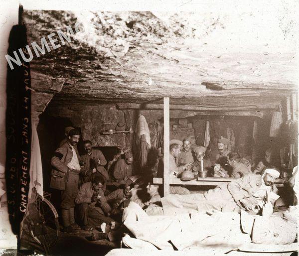 PV 486 SOUPIR campement dans la grotte BBC