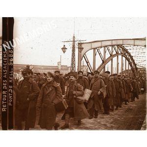 PV 9685 retour des alsaciens au pont de KELL BBC