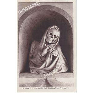 Monastère de la Grande Chartreuse Buste de la Mort recto