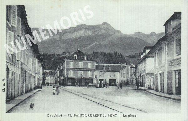 St Laurent du Pont  la place