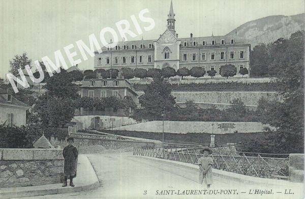 St Laurent du Pont l'hôpital