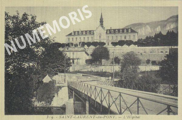 St Laurent du Pont  hôpital Martinotto