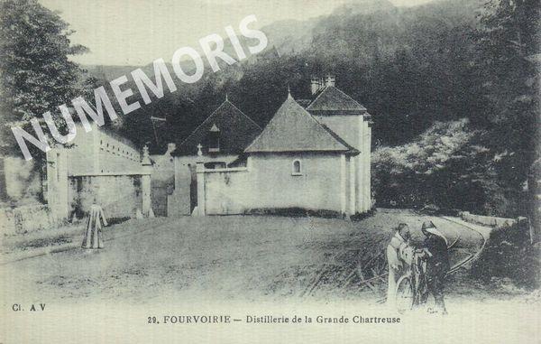 Fourvoirie distillerie de la Grande Chartreuse
