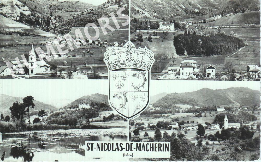 Saint Nicolas de Macherin cp divers