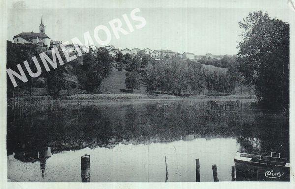 St Etienne de Crossey 1949 vue generale