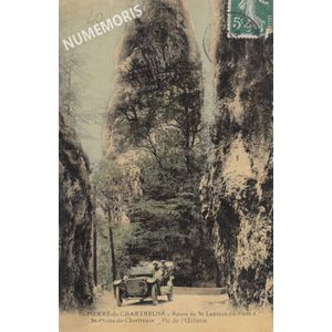 StPierre Chartreuse pic de l'Oeillette