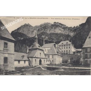 couvent de la grande Chartreuse 19 AV carnet AMM