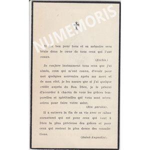 Odet Euge?ne Abbe? de St nicolas 1868 1933 verso