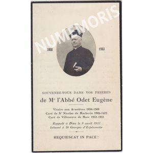 Odet Euge?ne Abbe? de St nicolas 1868 1933