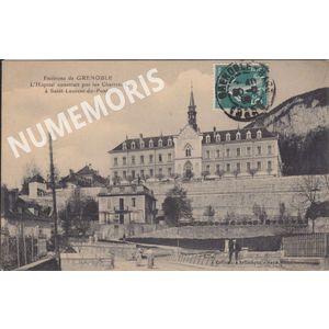 Saint Laurent du Pont hopital Saya 1909 GBSA