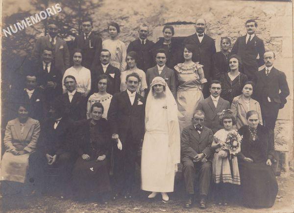 mariage joseph Petrus et Blanche Pivot