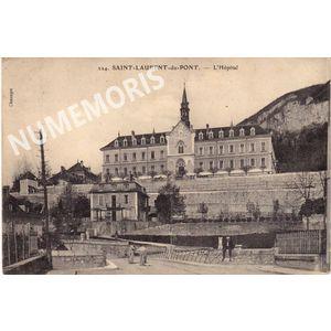 St Laurent du pont hopital 1905