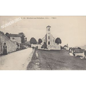 Miribel BG 226 église 1923