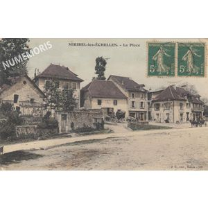 Miribel JG145 la place colorisé 1917