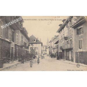 Grand Rue d'Entre Deux Guiers