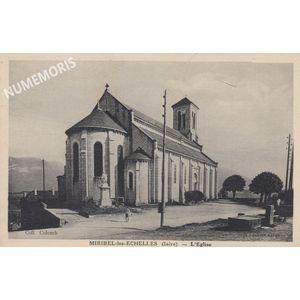 Miribel église Collomb 1948 AMM